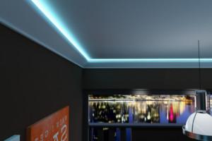 Indirekte beleuchtung mit LED