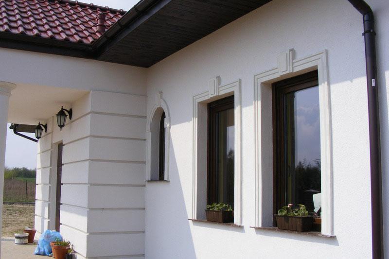 Hausfassade Gestalten Mit Styropor Decormarket