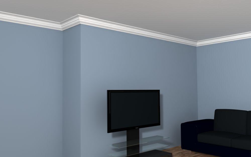 deckenabschlussleiste styropor lp1 deckenstuck. Black Bedroom Furniture Sets. Home Design Ideas