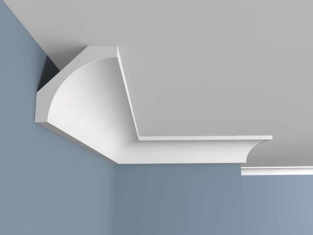 deckenleiste kunststoff fe1 deckenstuck. Black Bedroom Furniture Sets. Home Design Ideas