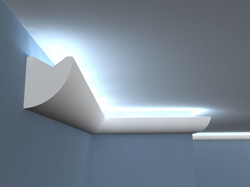 lichtleiste lo1 led stuckleiste. Black Bedroom Furniture Sets. Home Design Ideas