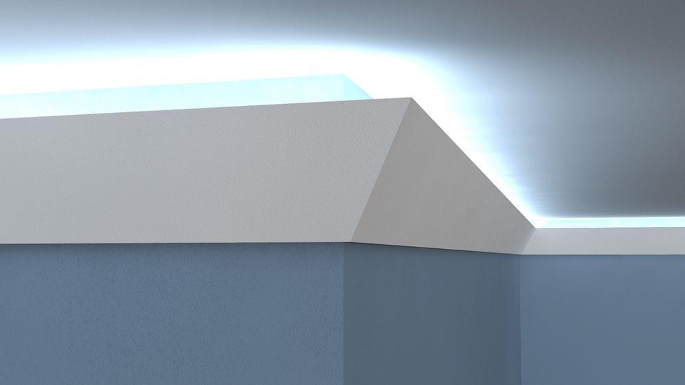 lichtleiste lo2 led deko. Black Bedroom Furniture Sets. Home Design Ideas