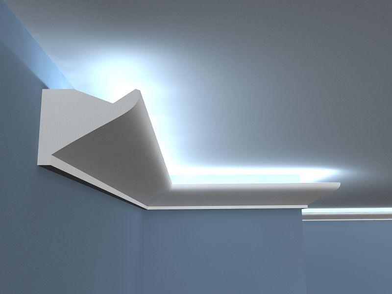 led stuckelement lo 6 wandlichtleiste. Black Bedroom Furniture Sets. Home Design Ideas