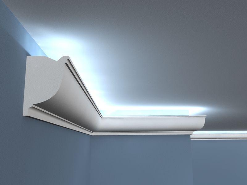 deckenlichtleiste led lo 11 stuckleiste. Black Bedroom Furniture Sets. Home Design Ideas