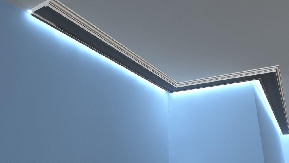 Lichtleisten Set - LED Stuckprofil LO-14