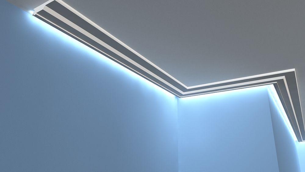 led deckenprofil lo13 deckenprofil led. Black Bedroom Furniture Sets. Home Design Ideas