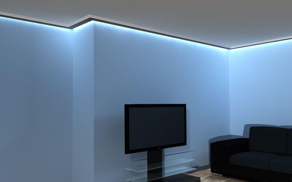 lichtleiste lo 14 deckenprofil led. Black Bedroom Furniture Sets. Home Design Ideas