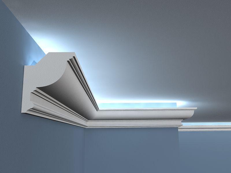 led stuckleiste low 12 wandlichtleiste. Black Bedroom Furniture Sets. Home Design Ideas
