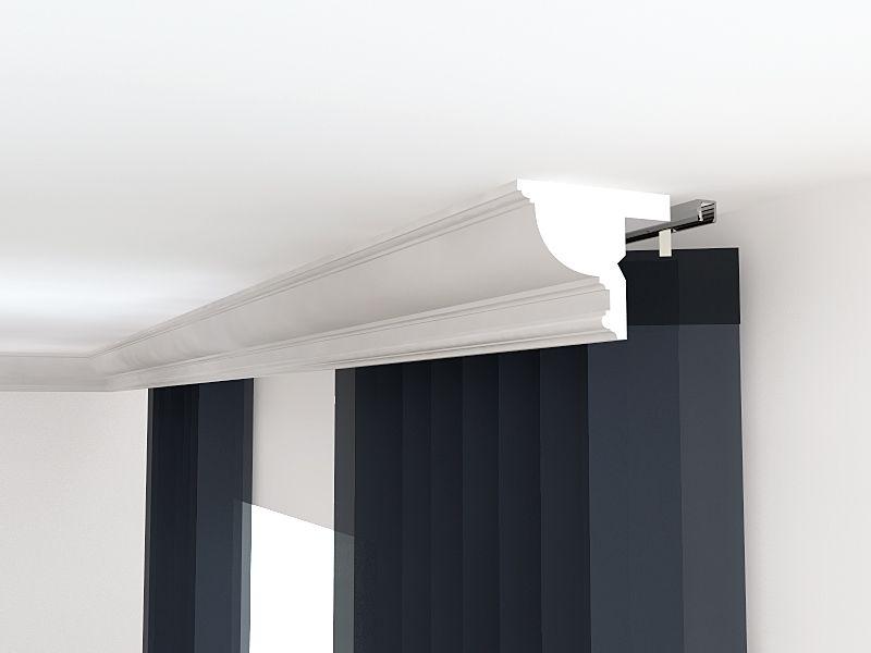 zierleiste f r gardinenschiene verkleidung lko10 stuckleiste lko10. Black Bedroom Furniture Sets. Home Design Ideas