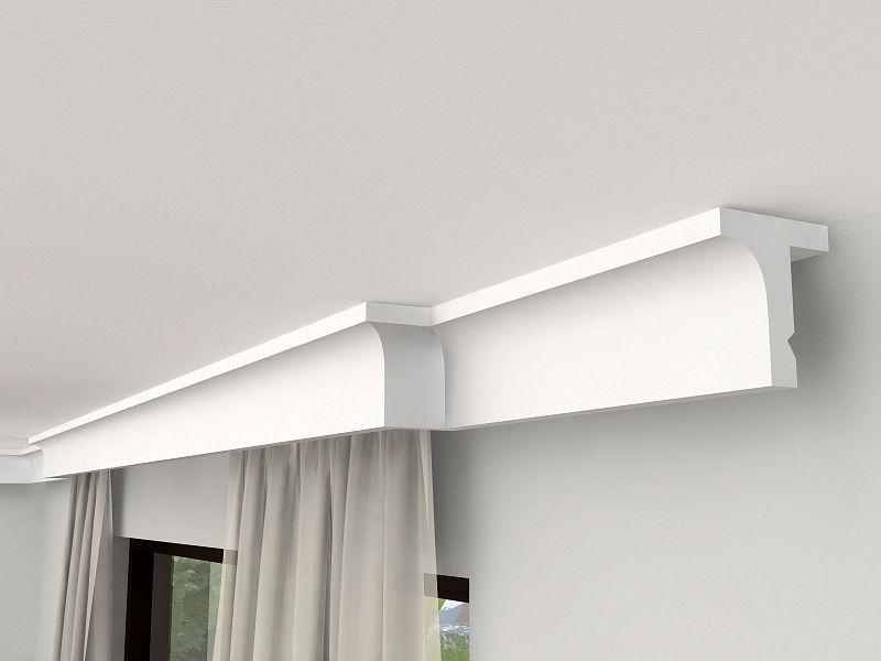 kunststoffblende mit led lko1 gardinenleiste. Black Bedroom Furniture Sets. Home Design Ideas