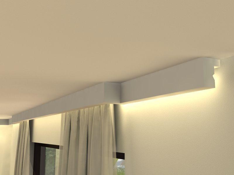 gardinenschiene styropor lko4. Black Bedroom Furniture Sets. Home Design Ideas