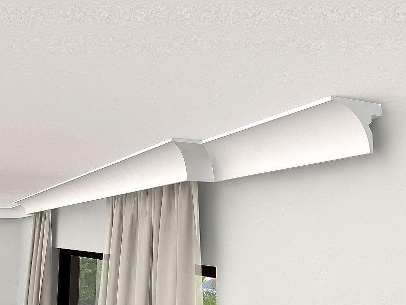 kunstoffblende styropor lko6 leiste mit zus tzlicher beleuchtung lko6. Black Bedroom Furniture Sets. Home Design Ideas