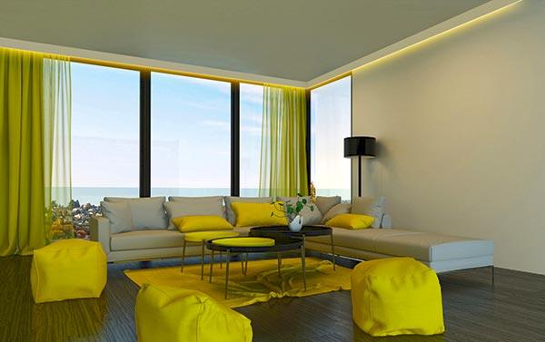 gardinenschiene mit blende gardinenblenden. Black Bedroom Furniture Sets. Home Design Ideas