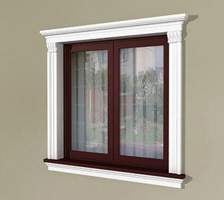 Modern Fensterfaschen Gestalten