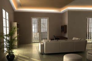 Indirekte beleuchtung wand ideen mit LO-3