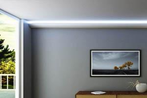 Stuckleisten indirekte beleuchtung decke LO7