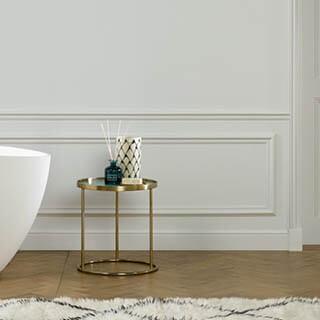 Badezimmer Zierleisten aus Polyurethan