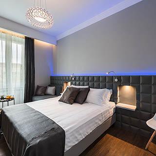 indirekte Beleuchtung im Schlafzimmer