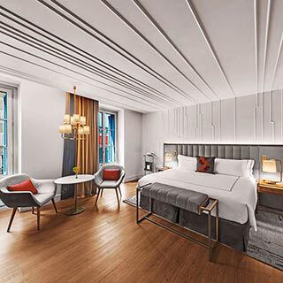 Interessante Idee Schlafzimmer Decke