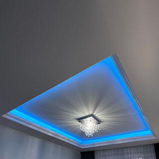 Stuck mit LED beleuchtung