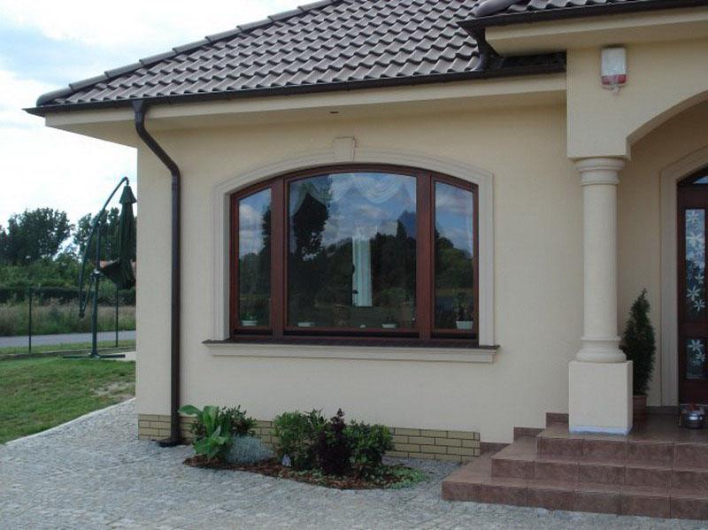 Hausfassade gestalten Ideen
