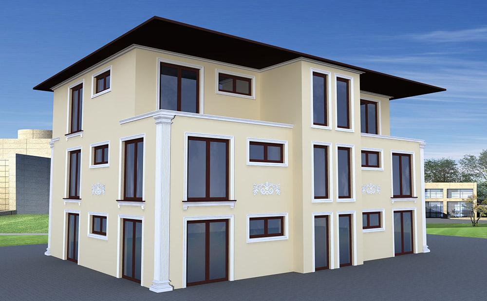 Fassadengestaltung Modern Einfamilienhaus Beispiele Haus