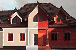 Fassadengestaltung Modern