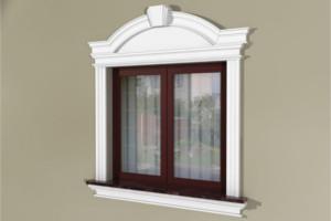 Fensterumrandung Außen