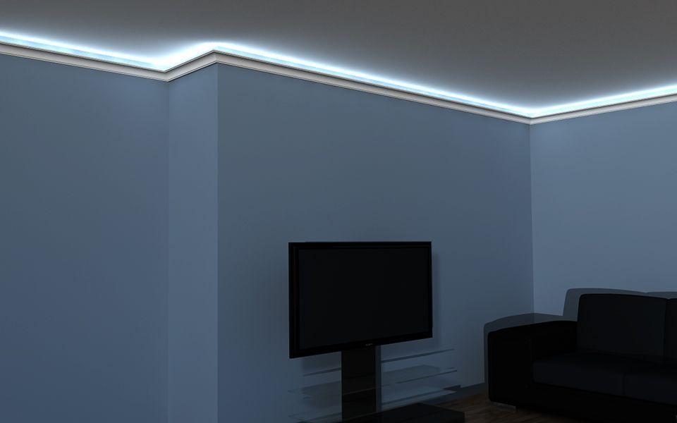 Deckenabschlussleiste Led Lo 20a Lichtleiste