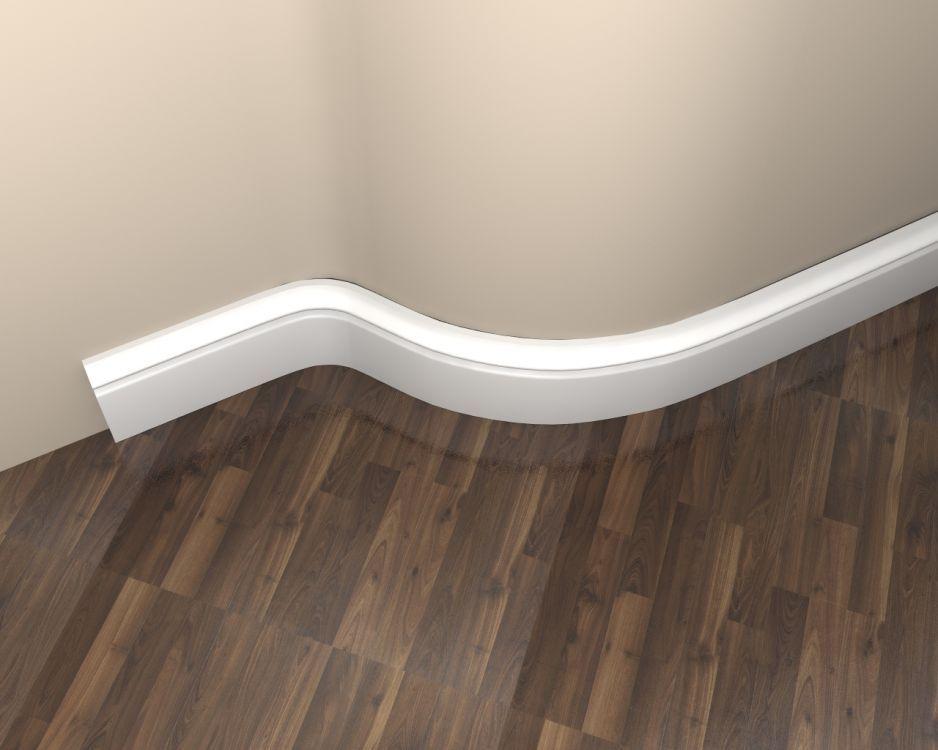 Fußleisten Weiß sockelleiste md018f fußleiste flexibel