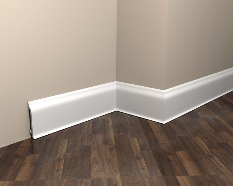 Fußbodenleiste Weiß stuck sockelleiste md8300 fußleiste weiß