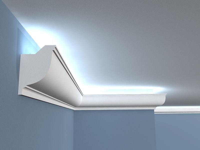 Deckenabschlussleiste LED LOW-11 - LED Beleuchtung