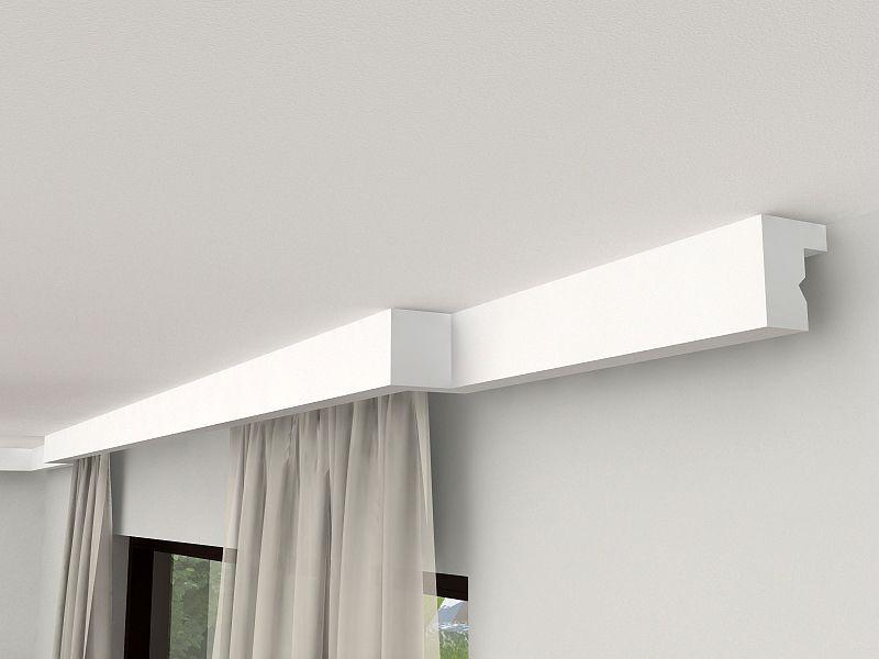 Lichtleiste für Gardinen Verkleidung LKO4   Blende