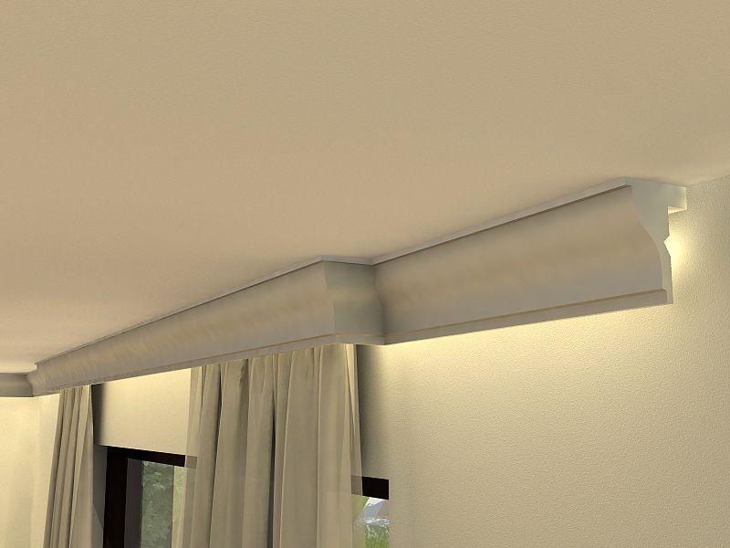 zierleiste zur vorhang verkleidung lko5 stuck gardinen. Black Bedroom Furniture Sets. Home Design Ideas