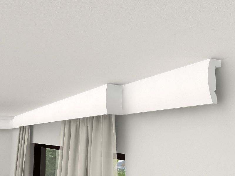 gardinen stuckprofil mit led lko7 gardinen stuck. Black Bedroom Furniture Sets. Home Design Ideas