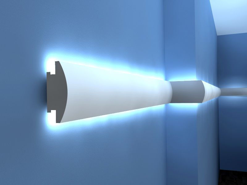 Indirekte Wandbeleuchtung indirekte wandbeleuchtung lo27 stuckbeleuchtung